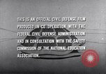 Image of civil defense United States USA, 1955, second 58 stock footage video 65675031691