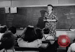 Image of civil defense Duck and Cover and fallout shelters United States USA, 1955, second 2 stock footage video 65675031693
