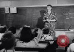 Image of civil defense Duck and Cover and fallout shelters United States USA, 1955, second 3 stock footage video 65675031693