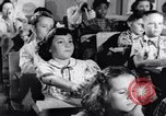 Image of civil defense Duck and Cover and fallout shelters United States USA, 1955, second 4 stock footage video 65675031693