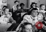 Image of civil defense Duck and Cover and fallout shelters United States USA, 1955, second 5 stock footage video 65675031693