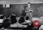 Image of civil defense Duck and Cover and fallout shelters United States USA, 1955, second 13 stock footage video 65675031693