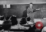 Image of civil defense Duck and Cover and fallout shelters United States USA, 1955, second 15 stock footage video 65675031693