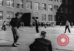 Image of civil defense Duck and Cover and fallout shelters United States USA, 1955, second 40 stock footage video 65675031693