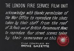 Image of Nazi incendiary air raid London England United Kingdom, 1940, second 15 stock footage video 65675031712