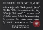 Image of Nazi incendiary air raid London England United Kingdom, 1940, second 21 stock footage video 65675031712