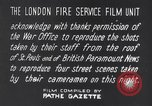 Image of Nazi incendiary air raid London England United Kingdom, 1940, second 22 stock footage video 65675031712