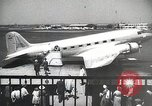Image of luxury first class passenger airplane 1940s United States USA, 1945, second 2 stock footage video 65675031730