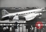 Image of luxury first class passenger airplane 1940s United States USA, 1945, second 4 stock footage video 65675031730