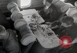 Image of luxury first class passenger airplane 1940s United States USA, 1945, second 61 stock footage video 65675031730