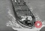 Image of river barge Mainz Germany, 1954, second 16 stock footage video 65675031776