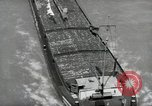 Image of river barge Mainz Germany, 1954, second 18 stock footage video 65675031776