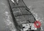 Image of river barge Mainz Germany, 1954, second 19 stock footage video 65675031776