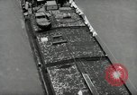 Image of river barge Mainz Germany, 1954, second 26 stock footage video 65675031776