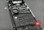 Image of river barge Mainz Germany, 1954, second 27 stock footage video 65675031776