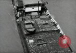 Image of river barge Mainz Germany, 1954, second 28 stock footage video 65675031776