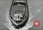 Image of river barge Mainz Germany, 1954, second 42 stock footage video 65675031776