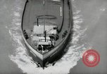 Image of river barge Mainz Germany, 1954, second 43 stock footage video 65675031776