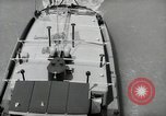 Image of river barge Mainz Germany, 1954, second 60 stock footage video 65675031776