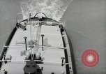 Image of river barge Mainz Germany, 1954, second 61 stock footage video 65675031776