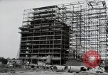Image of construction Wiesbaden Germany, 1954, second 11 stock footage video 65675031779
