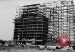Image of construction Wiesbaden Germany, 1954, second 22 stock footage video 65675031779