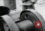 Image of construction Wiesbaden Germany, 1954, second 29 stock footage video 65675031779