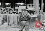 Image of construction Wiesbaden Germany, 1954, second 53 stock footage video 65675031779