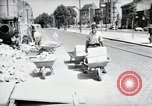 Image of construction work Mainz Germany, 1954, second 14 stock footage video 65675031792