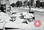 Image of construction work Mainz Germany, 1954, second 15 stock footage video 65675031792