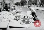 Image of construction work Mainz Germany, 1954, second 16 stock footage video 65675031792