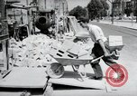 Image of construction work Mainz Germany, 1954, second 17 stock footage video 65675031792