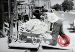 Image of construction work Mainz Germany, 1954, second 18 stock footage video 65675031792