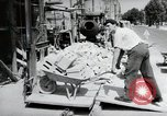 Image of construction work Mainz Germany, 1954, second 19 stock footage video 65675031792