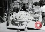 Image of construction work Mainz Germany, 1954, second 20 stock footage video 65675031792