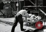 Image of construction work Mainz Germany, 1954, second 25 stock footage video 65675031792