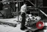 Image of construction work Mainz Germany, 1954, second 27 stock footage video 65675031792