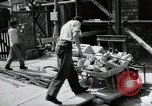 Image of construction work Mainz Germany, 1954, second 28 stock footage video 65675031792