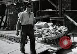 Image of construction work Mainz Germany, 1954, second 29 stock footage video 65675031792