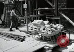 Image of construction work Mainz Germany, 1954, second 31 stock footage video 65675031792
