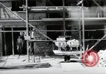 Image of construction work Mainz Germany, 1954, second 32 stock footage video 65675031792