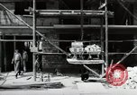 Image of construction work Mainz Germany, 1954, second 33 stock footage video 65675031792