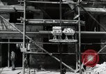 Image of construction work Mainz Germany, 1954, second 36 stock footage video 65675031792