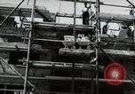 Image of construction work Mainz Germany, 1954, second 41 stock footage video 65675031792