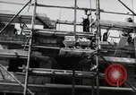 Image of construction work Mainz Germany, 1954, second 42 stock footage video 65675031792