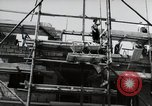 Image of construction work Mainz Germany, 1954, second 43 stock footage video 65675031792
