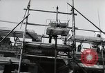 Image of construction work Mainz Germany, 1954, second 48 stock footage video 65675031792