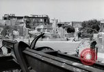 Image of damaged buildings Mainz Germany, 1954, second 56 stock footage video 65675031798