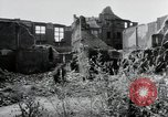 Image of damaged buildings Mainz Germany, 1954, second 25 stock footage video 65675031799