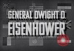 Image of Dwight David Eisenhower United States USA, 1951, second 13 stock footage video 65675031852